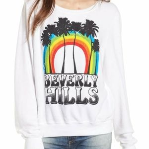 Wildfox Dream Scene Beverly hills sweatshirt